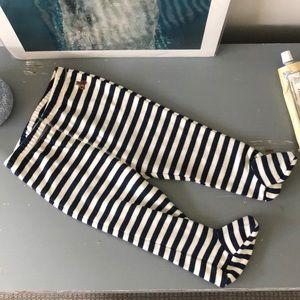 NWT Baby Gap Stripe Footie Pants